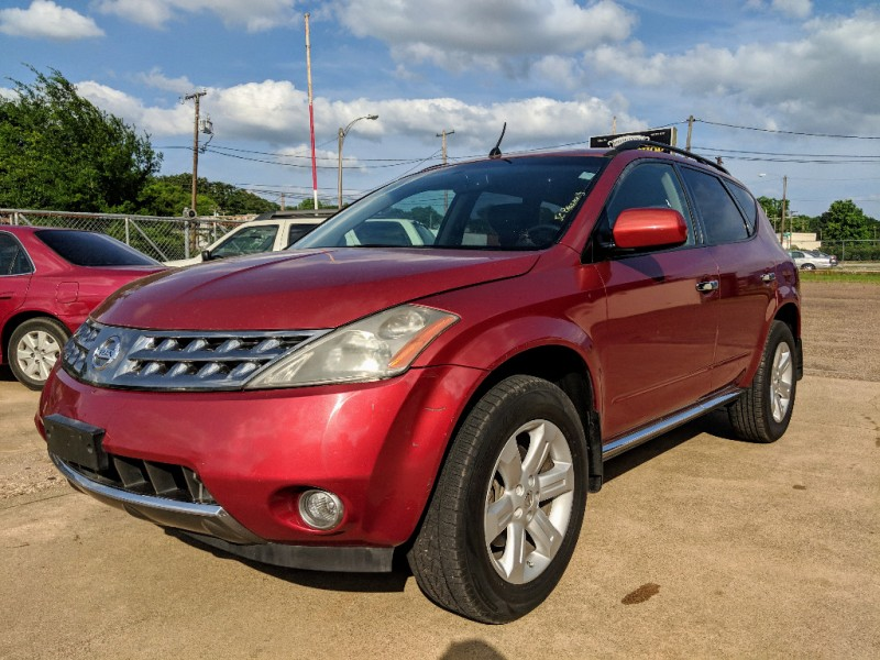 2007 Nissan Murano >> 2007 Nissan Murano 2wd 4dr Sl