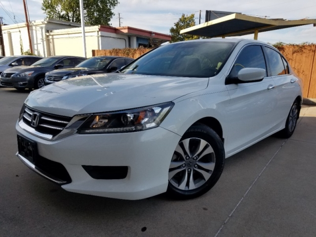 2014 Honda Accord Sedan LEATHER