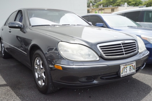 2002 Mercedes-Benz S-Class
