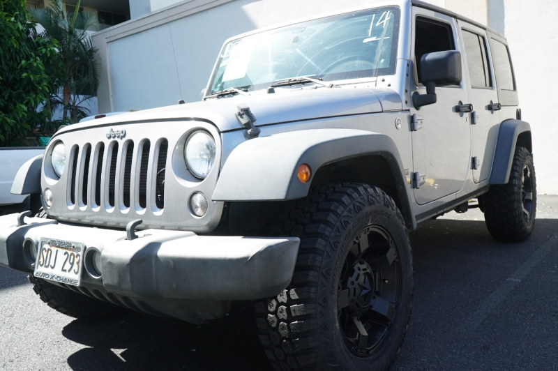 Jeep Wrangler Unlimited 2014 price $28,900
