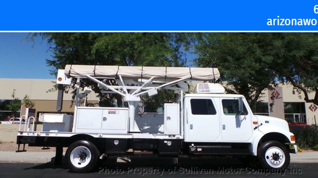 International 470CB Crew Cab 2001 price $15,377