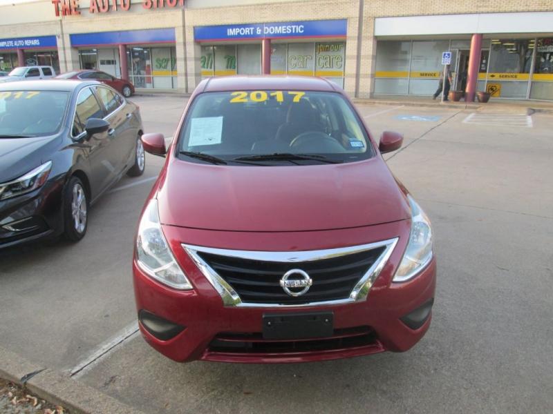Nissan VERSA 2017 price $10,897