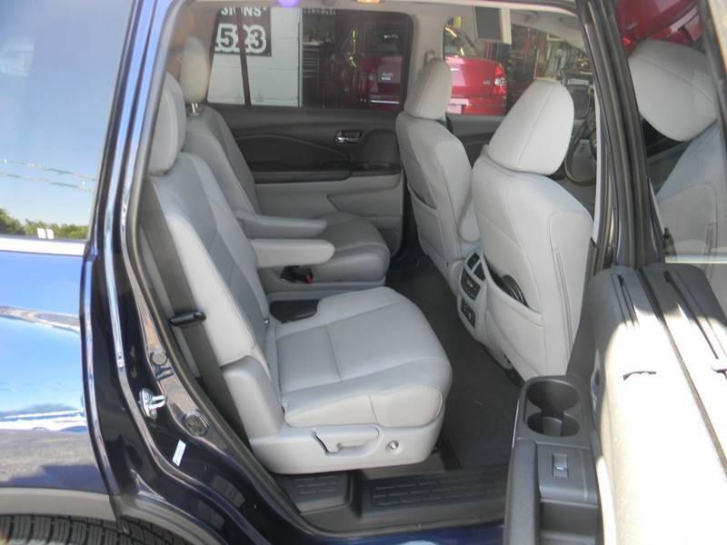 Honda Pilot 2016 price $26,475