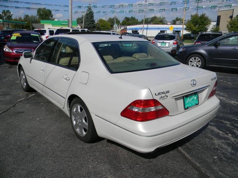 Lexus LS 430 2004 price $12,975
