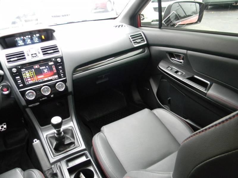 Subaru WRX 2018 price $28,660