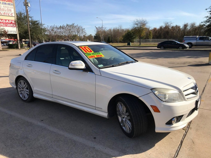 MERCEDES-BENZ C-CLASS 2008 price 1,500 DOWN