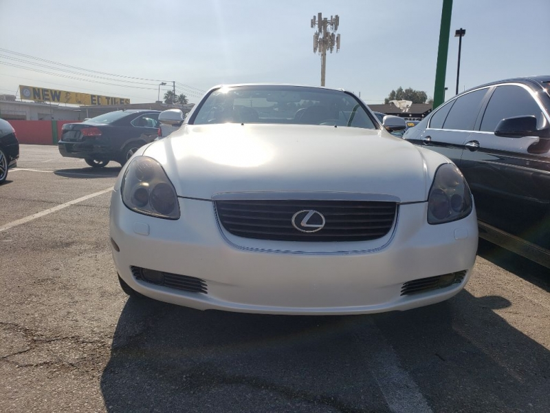 LEXUS SC 430 2002 price Call for Pricing.