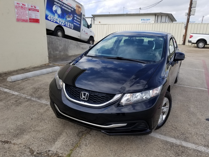 Honda Civic Sdn 2013 price $6,500