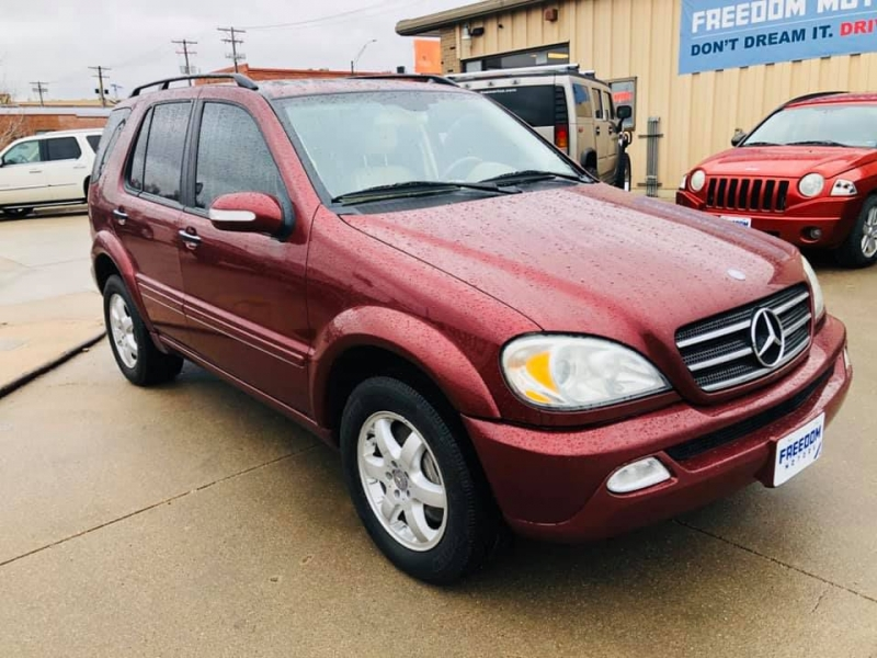 MERCEDES-BENZ ML 2002 price $3,950