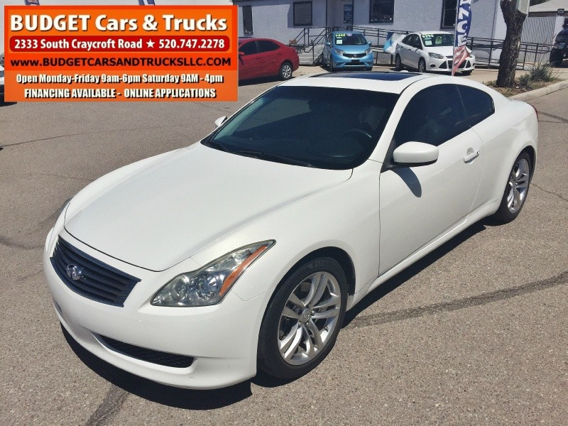 2009 INFINITI G37 Coupe 2dr Journey RWD - Budget Cars