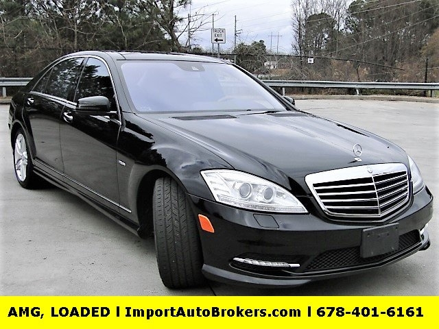 2012 Mercedes Benz S Class S550 Amg Sport Driver Assistance Packages