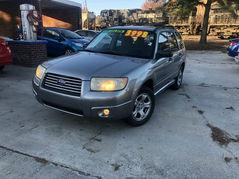 Subaru Forester 2007 price $3,999