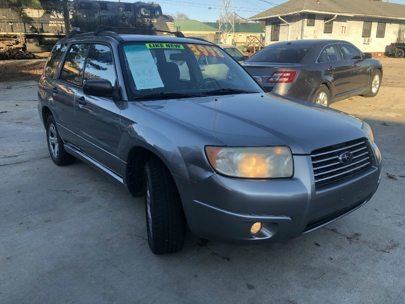Subaru Forester 2007 price $3,999