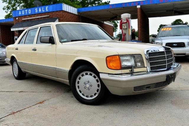 1986 Mercedes-Benz 420 Series