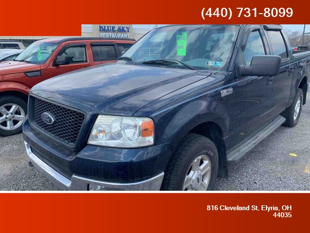 F150 Supercrew Cab >> 2004 Ford F150 Supercrew Cab Fx4 Pickup 4d 5 1 2 Ft Car