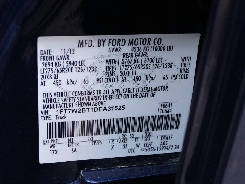 Ford Super Duty F-250 SRW 2013 price $28,995