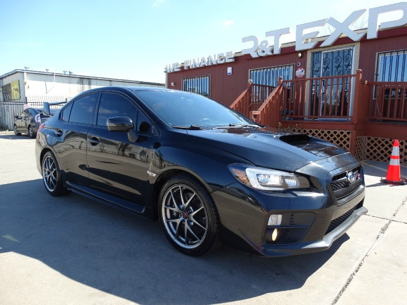 Subaru WRX STI Limited 2016 price $25,995