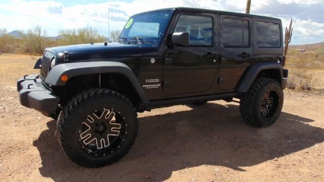 2011 Jeep Wrangler Unlimited 4 Door Sport 4WD Lifted