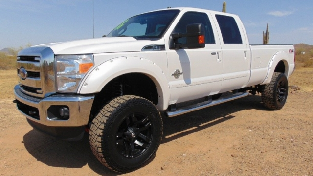 2012 Ford F350 4WD Super Duty Lariat FX-4 Lifted
