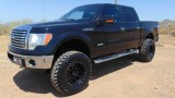 Ford F150 4WD SuperCrew XLT Lifted 2011