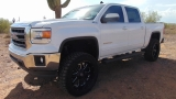 GMC Sierra 1500 4WD Crew Cab SLE Lifted 2014