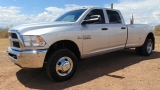 Dodge Ram 3500 Crew Cab Tradesman Long Bed Dually 2015