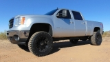 GMC Sierra 2500 HD Crew Cab SLT Z71 4X4 Lifted 2012