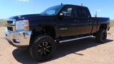 Chevrolet Silverado 2500HD Crew Cab LT Z71 4x4 Lifted 2012