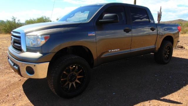 2010 Toyota Tundra SR5 CrewMax TRD Off-Road 5.7L Leveled