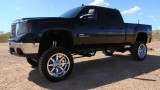 GMC Sierra 2500HD 4WD Crew Cab SLT Lifted 2008
