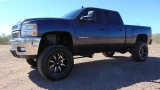 Chevrolet Silverado 2500HD LTZ Crew Cab 4WD Lifted 2011