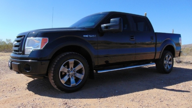 2010 Ford F150 SuperCrew FX4 4X4 Short Bed