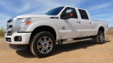 Ford F-350 Super Duty Crew Cab Platinum 4WD 2015