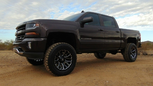 2016 chevrolet silverado 1500 4wd crew cab lt z71 short bed lifted inventory canyon state. Black Bedroom Furniture Sets. Home Design Ideas