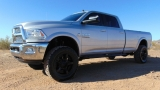 Dodge Ram 3500 4WD Crew Cab Laramie Long Bed Lifted 2013