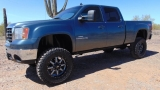 GMC Sierra 2500HD 4WD SLT Crew Cab Z71 Lifted 2009