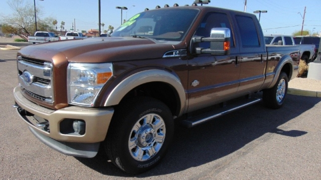 2012 Ford F-250 King Ranch 4WD Super Duty Crew Cab