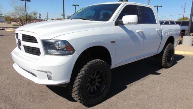 2014 Dodge Ram 1500 4WD Sport Crew Cab Lifted