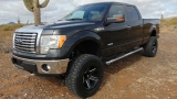 Ford F150 4WD SuperCrew XLT Lifted 2012
