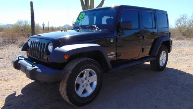 2013 Jeep� Wrangler Unlimited 4x4 4 Door