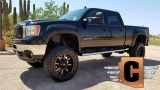GMC Sierra 2500HD SLT Crew Cab Z71 4x4 Lifted 2014
