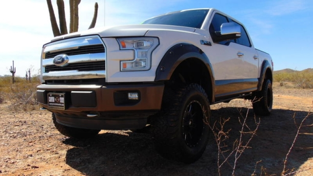 2015 Ford F-150 Lariat SuperCrew 4x4 Lifted