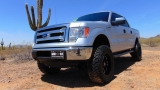 Ford F-150 XLT Crew 3.5L Ecoboost 4x4 Lifted 2013