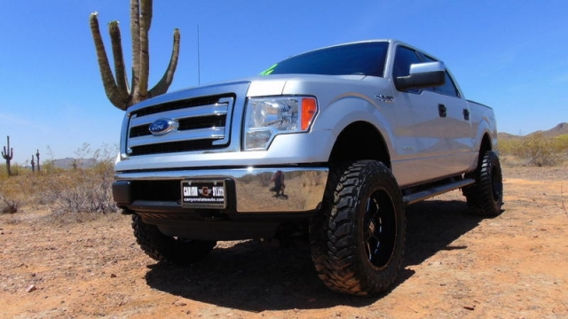 2013 Ford F-150 XLT Crew 3.5L Ecoboost 4x4 Lifted