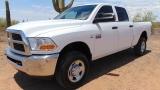 Dodge Ram 2500 SLT Crew Cab 6.7L Turbo Diesel 4x4 2012