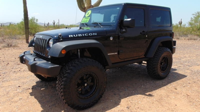 2016 Jeep Wrangler Rubicon 6 Speed 3.6L 4x4 Lifted