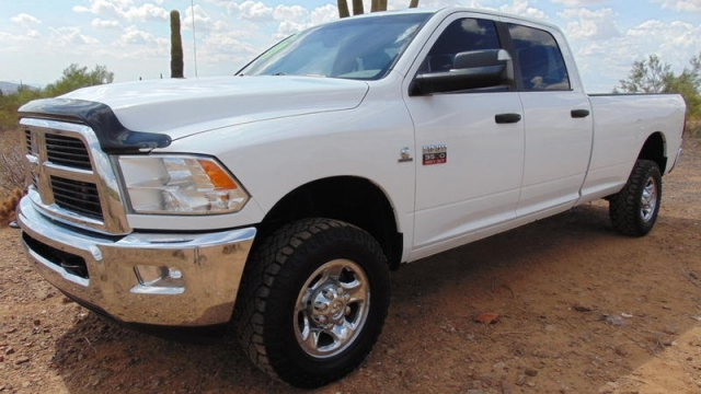 2012 Dodge Ram 3500 SLT Crew Cab 6.7L Cummins 4x4 Long Bed