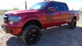 Ford F-150 FX4 SuperCrew 6.2L 4x4 Lifted 2013