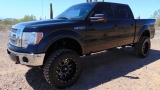 Ford F-150 Lariat SuperCrew 4x4 Lifted 2011