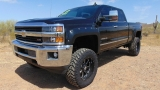 Chevrolet Silverado 2500HD LTZ 4WD Crew Cab Lifted Z71 2015